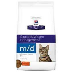 Hills Prescription Diet Feline m/d корм при лечении диабета 2 кг