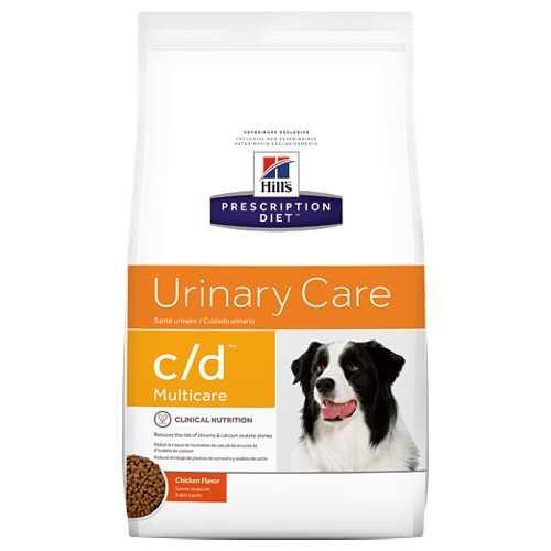 Hills С/D сухой диетический корм для собак при лечение МКБ (струвиты) 2 кг