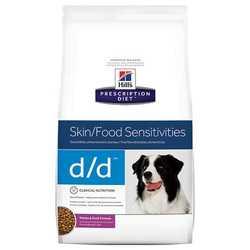 Hills D/D сухой диетический корм для собак при аллергии с уткой 12 кг