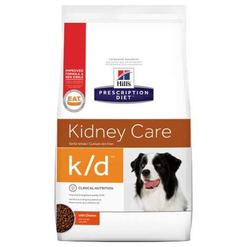 Hills K/D сухой диетический корм при лечении почек 2 кг