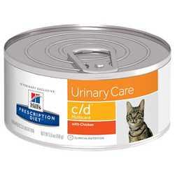 Hills Prescription Diet с/d Multicare консервы для кошек профилактика МКБ (0,156 кг) 1 шт