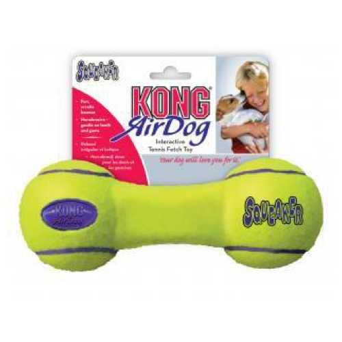 """Kong игрушка для собак Air """"Гантель"""" средняя 18 см"""