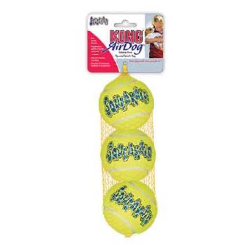 """Kong игрушка для собак Air """"Теннисный мяч"""" маленький (в упаковке 3 шт) 5 см"""