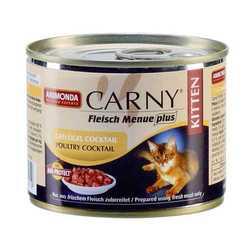 Animonda Carny Kitten консервы для котят куриный коктейль (0,20 кг) 6 шт
