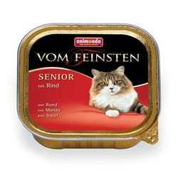 Animonda Vom Feinsten консервы для пожилых кошек с говядиной (0,10 кг) 32 шт
