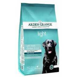 Arden Grange Adult Light сухой корм для собак низкокалорийный 12 кг