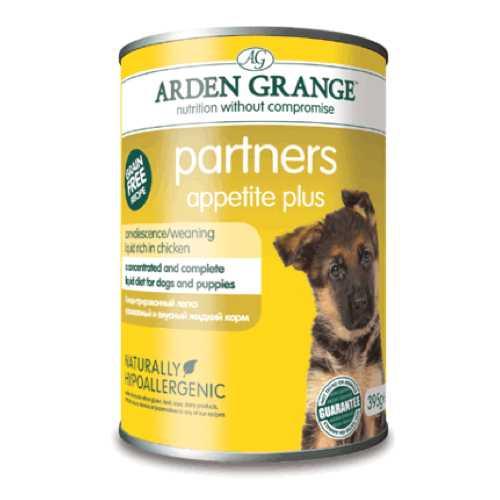 """Arden Grange консервы для собак и щенков """"Суп с курицей"""" (0,395 кг) 6 шт"""