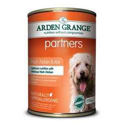 Arden Grange консервы для собак с курицей (0,395 кг) 6 шт