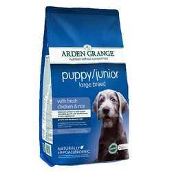 Arden Grange Puppy & Junior Large сухой корм для щенков  крупных пород 12 кг