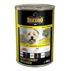 Belcando консервы для собак индейка с рисом (0.80 кг) 1 шт