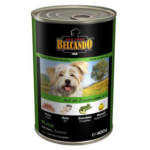 Белькандо консервы для собак мясо с овощами (0.40 кг) 24 шт