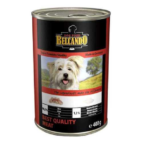 Белькандо консервы для собак из отборного мяса (0.40 кг) 24 шт