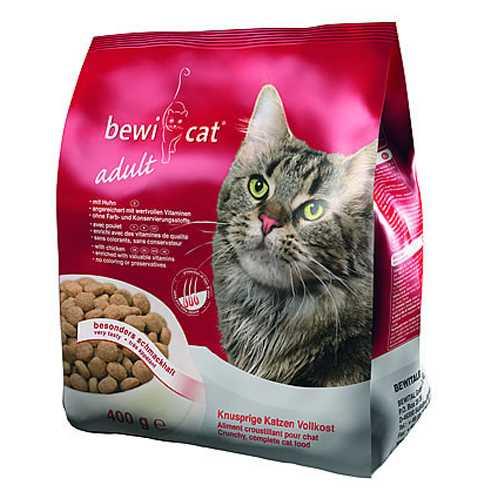 Беви кет сухой корм для кошек смесь из трех видов крокетов 5 кг
