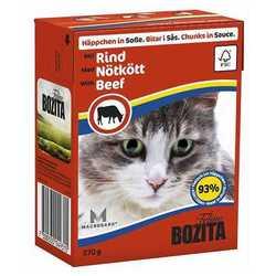 Bozita Beef консервы для кошек говядина в соусе (0,37 кг) 1 шт