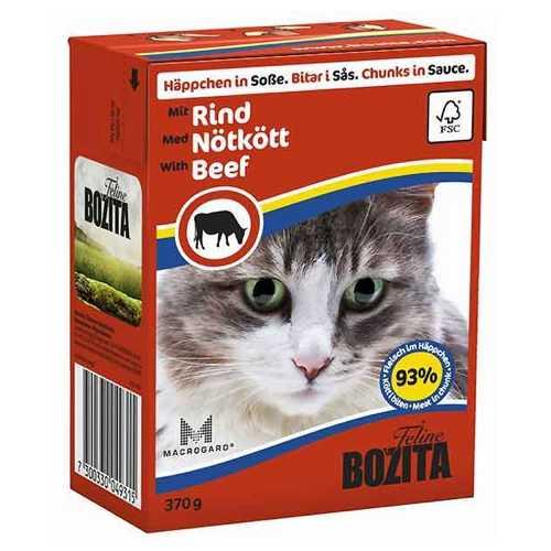 Бозита консервы для кошек говядина в соусе (0,37 кг) 1 шт