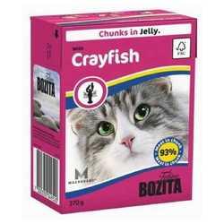 Bozita Crayfish консервы для кошек с лангустом в желе (0,37 кг) 1 шт