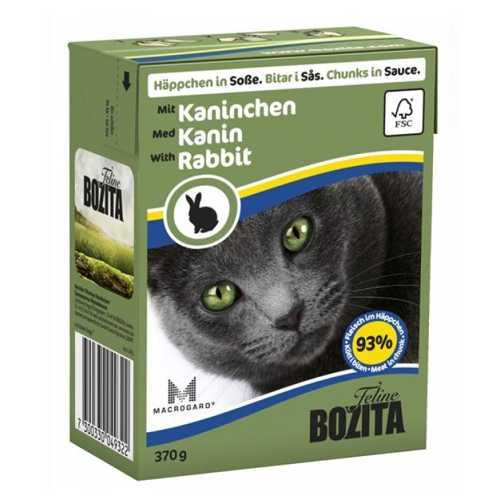 Бозита консервы для кошек кролик в соусе (0,37 кг) 1 шт