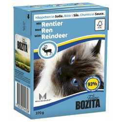 Bozita Reindeer консервы для кошек оленина в соусе (0,37 кг) 1 шт