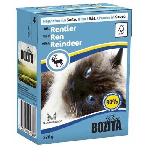 Бозита консервы для кошек оленина в соусе (0,37 кг) 1 шт