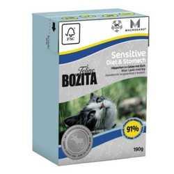 Bozita Sensitive Diet Stomach консервы для чувствительных кошек (0,19 кг) 1 шт
