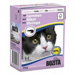 Bozita Shrimps консеры для кошек креветки в соусе (0,37 кг) 1 шт