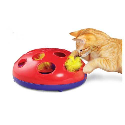 Kong игрушка трек для кошек Glide 'n Seek трек на батарейках