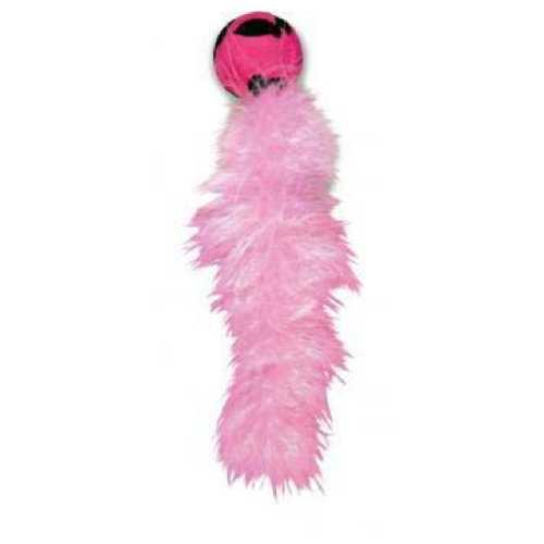 """игрушка для кошек """"Дикий хвост"""" 18 см с хвостом из перьев"""