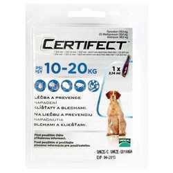 Certifect капли для собак 10 - 20 кг