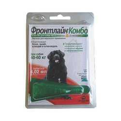 Frontline Combo XL для собак от 40 до 60 кг