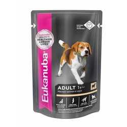 Eukanuba Lamb паучи для собак с ягненком (0,10 кг) 24 шт