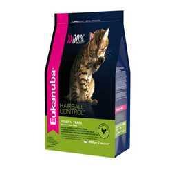Eukanuba Hairball корм для вывода шерсти у кошек 400 гр