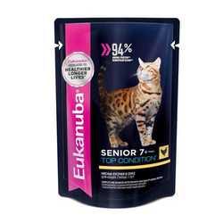 Eukanuba Senior паучи для пожилых кошек (0,085 кг) 24 шт