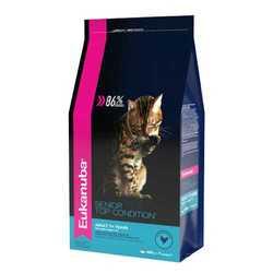 Eukanuba Senior корм для пожилых кошек 400 гр