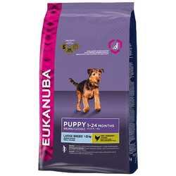 Eukanuba Puppy Large корм для щенков крупных пород 15 кг