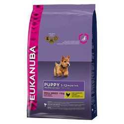 Eukanuba Puppy Small корм для щенков мелких пород 3 кг