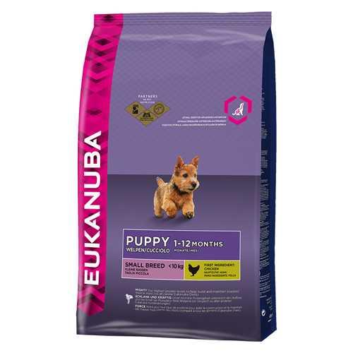 Эукануба сухой корм для щенков мелких пород 3 кг