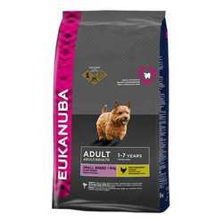 Eukanuba Small Breed корм для собак мелких пород 15 кг