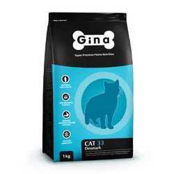 Gina Denmark cat для активных кошек 18 кг