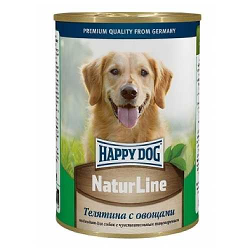 Хэппи Дог консервы для собак телятина с овощами (0,4 кг) 20 шт