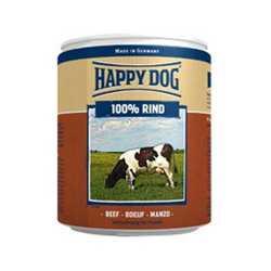 Хэппи Дог консервы для собак с говядиной (0,4 кг) 6 шт