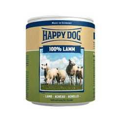 Хэппи Дог консервы для собак с ягненком (0,4 кг) 6 шт