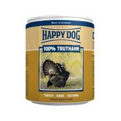 Хэппи Дог консервы для собак с индейкой (0,4 кг) 6 шт
