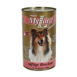 My Lord Classic консервы для собак с ягненком и рисом (1,24 кг) 12 шт