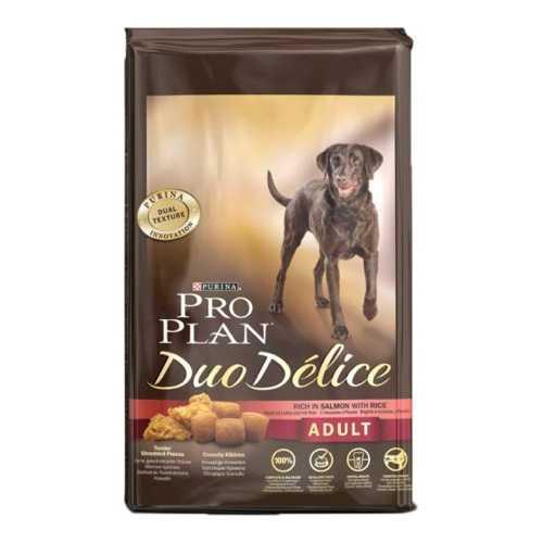 Pro Plan Duo Delice Salmon | Сухой корм Про План Дуо Делис для собак c лососем 2,5 кг