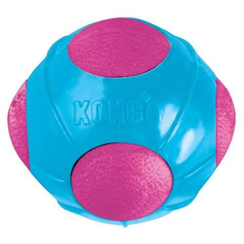 Kong игрушка для собак DuraSoft Мячик 6,5 см малый