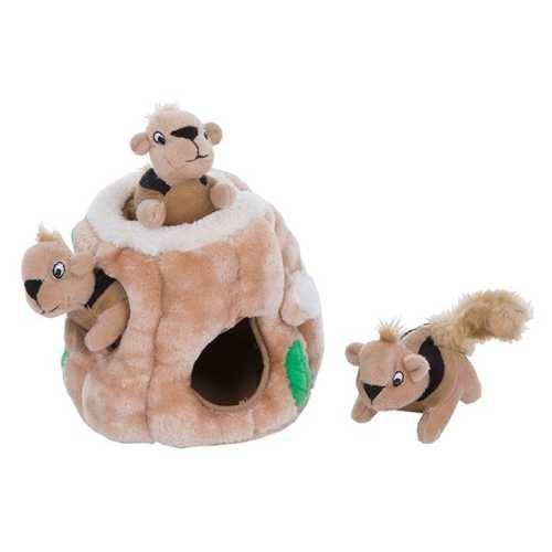 Petstages » OH игрушка-головоломка для собак Hide-A-Squirrel (спрячь белку) малая 12 см