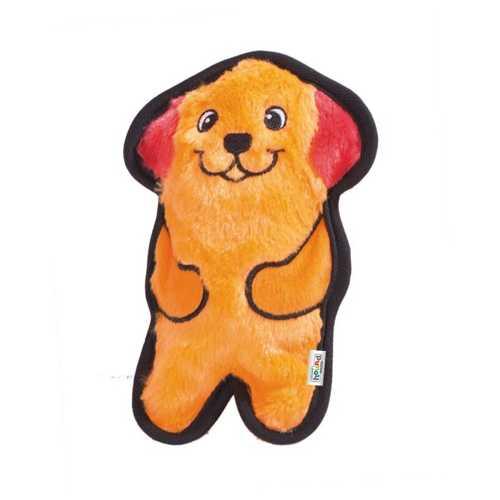 Petstages OH игрушка для собак Invinc Mini Собачка без наполнителя с пищалками 15 см