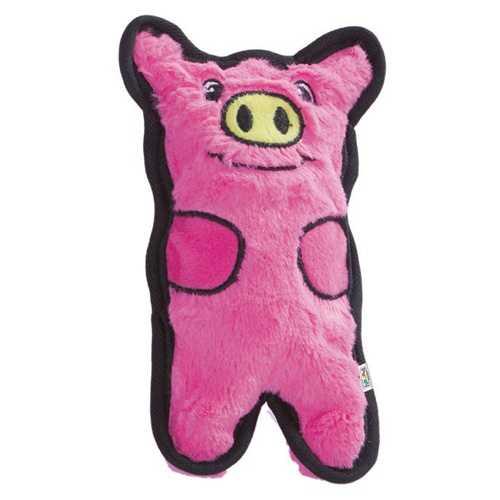 Petstages OH игрушка для собак Invinc Mini Свинка без наполнителя с пищалками 12 см