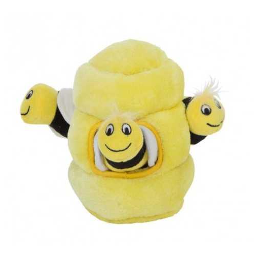 Petstages OH игрушка-головоломка для собак Hide-A-Bee (спрячь пчелку) средняя 22 см