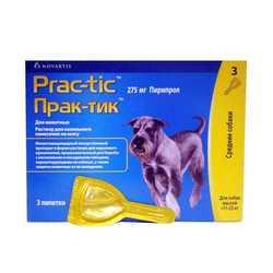 Prac-tic капли для собак 11 -22 кг